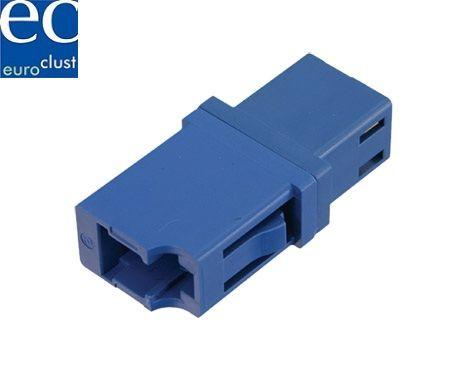 Optical Adapter LC/PC, simplex, SM, RJ45 footprint