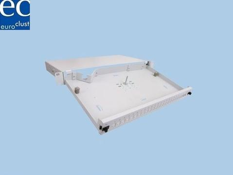 19'' Cable management Patch panel, 1HU