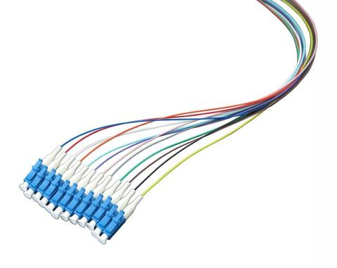 Optical pigtail LC/UPC, 1.5m, Color Coded, Non-easy strip
